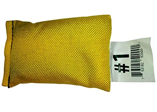 Scuba Diving Shot Lead Soft Weight Bag in HD Cordura Pouch (1 LB)