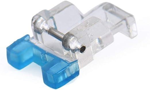 La Canilla ® - Prensatelas de botones para Máquinas de Coser Domésticas (Snap-On): Amazon.es: Hogar