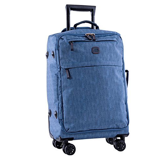 Bric's X-Bag/x-Travel 25 Inch Medium Spinner with Frame, Jean by Bric's (Image #1)