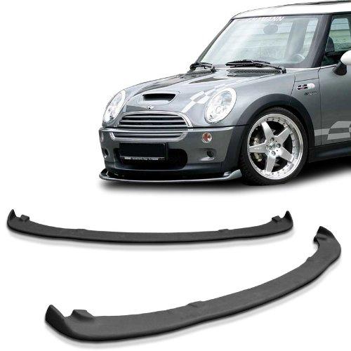 Mini Cooper S DTM H Style Urethane Front Bumper Lip Chin Spoiler For 02-06 Models Mini Cooper Front Lip