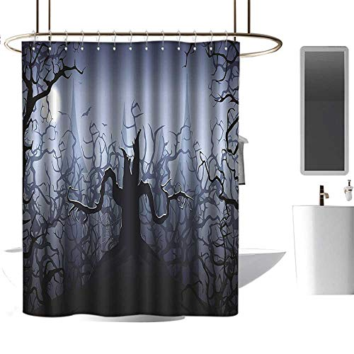 alisoso Halloween Decorations Darkness in Forest Swirling Spooky
