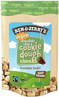 product image for Ben & Jerry's - Snackable Dough Chunks, Non-GMO - Fairtrade, Vegan Chocolate Chip Cookie Dough, 8 Oz. Bag (8 Count)