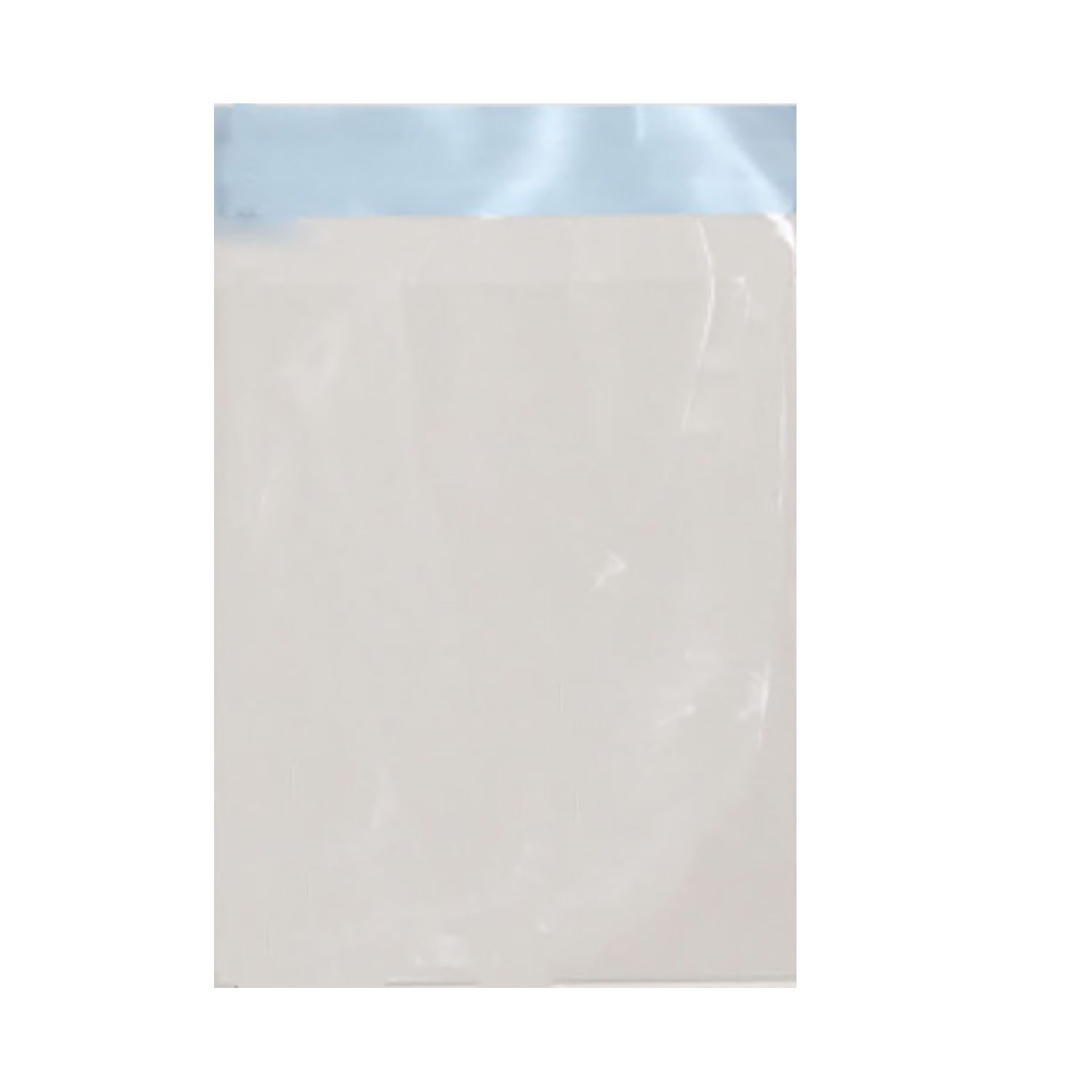 """Pack of 100 Adhesive Resealable 3.5/""""x7/"""" Clear Poly BAGS SLEEVES for PROOF SETS"""