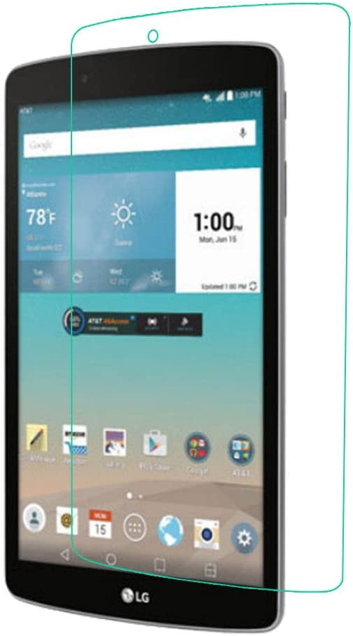 HD PREMIUM Tempered Glass Screen Protector for 8 LG G PAD F 8.0 V498 V495 Tablet