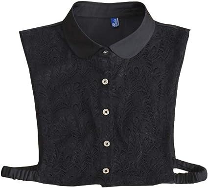 Fake Collar False Half-Shirt Blouse Detachable Collars Women Lace False Cuffs