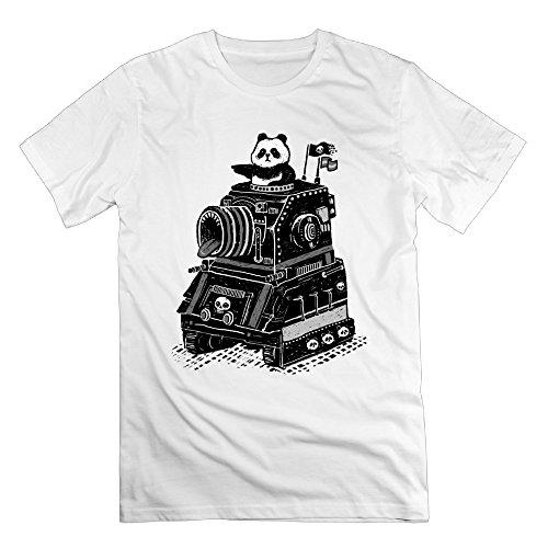 Men Pandas Terrible Tank Pandas Terrible Tank Graphic Design Colleges T-shirt