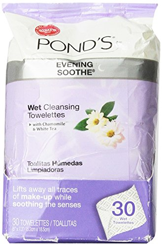 Pond's Moisture Clean Towelettes, Evening Soothe - 28 ()