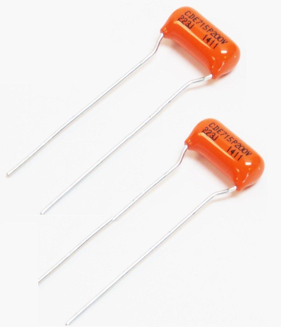 .022uf / 200v Orange Drop Capacitors - Pair (2X) 51gX-tkCTJL