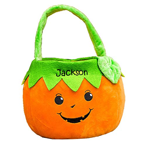 GiftsForYouNow Pumpkin Boy Personalized Trick or Treat