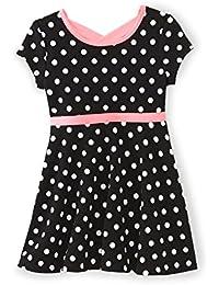 Toddler Girl's Skater Dress Dots 3T