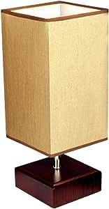 ZZG Moderna lámpara de Mesa de Madera IKEA Minimalista Lámpara de ...