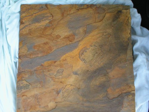 Huge Slate Textured Concrete Flagstone Steppingstone Mold, #1818SL-A (Textured Patio Slabs)