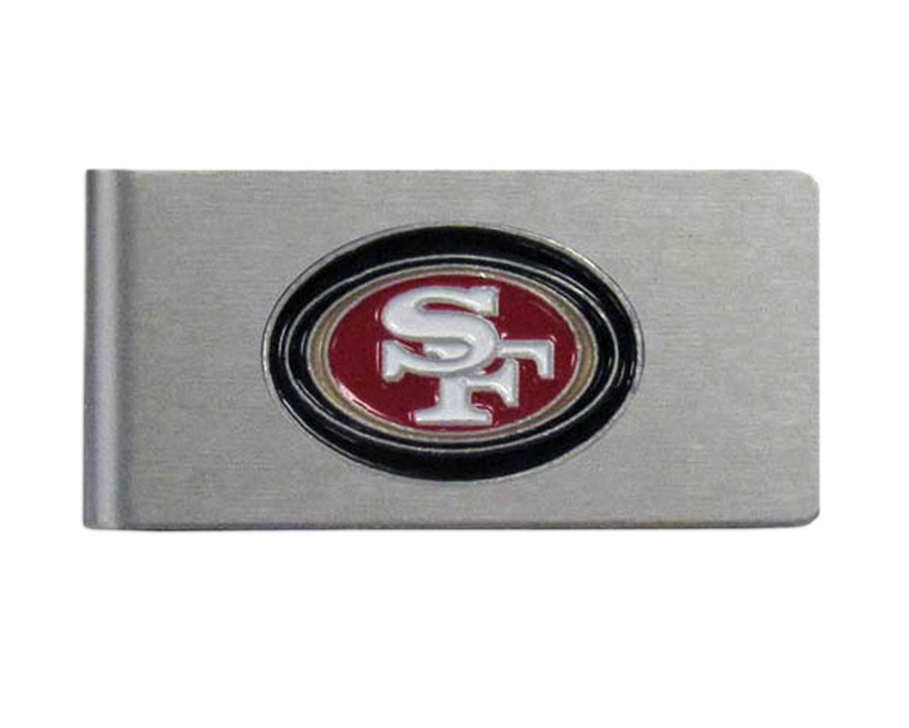 NFL Brushed Money Clip Siskiyou Gifts Co Inc. FBMC035