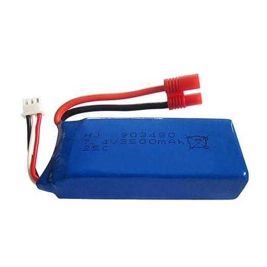 Batería de polímero de litio de 7,4 V 2500 mAh para SYMA X8G X8HC X8HG