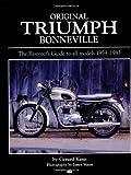 img - for Original Triumph Bonneville (Bay View Books) book / textbook / text book