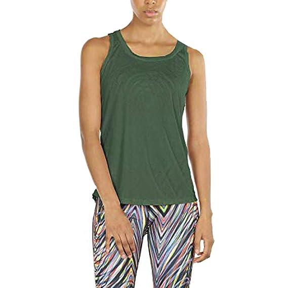 Susen Mujer Verano Camiseta Mujer Corta Fitness Mujeres Yoga ...