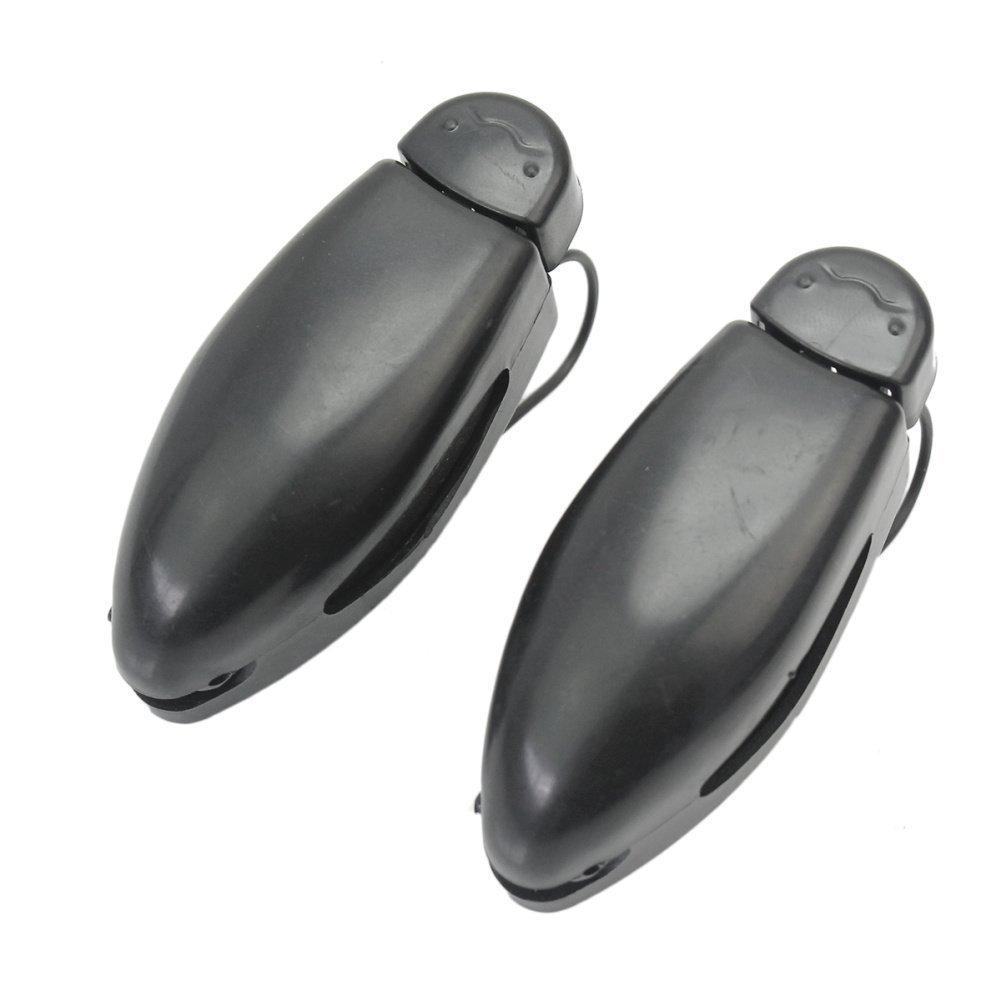 Pinzhi® 2x Portable Car Auto Visor Glasses Sunglasses Plastic Clip Holder Black LEPACA2523