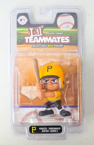 Party Animal Pittsburgh Pirates Lil Teammates Throwback Batter Toy -