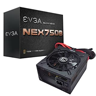 EVGA Supernova NEX750B 80PLUS Bronze Certified ATX12V/EPS12V 750W Power Supply 120-PB-0750-KR (B009YC3DBS) | Amazon price tracker / tracking, Amazon price history charts, Amazon price watches, Amazon price drop alerts