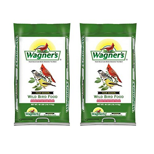 Wagner's 13013 Four Season Wild Bird Food, 40-Pound Bag (2 pack) by by Wagner's