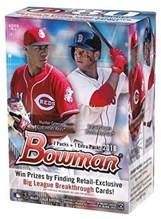 2018 Bowman Mlb Baseball Blaster Box 8 Pk