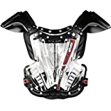 EVS Sports Vex Motocross MX Chest Protector Clear/Black MD