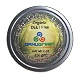 DanuGreen Natural Organic Mosquito Repellent Ban Bugs Balm (2 ounce Tin)