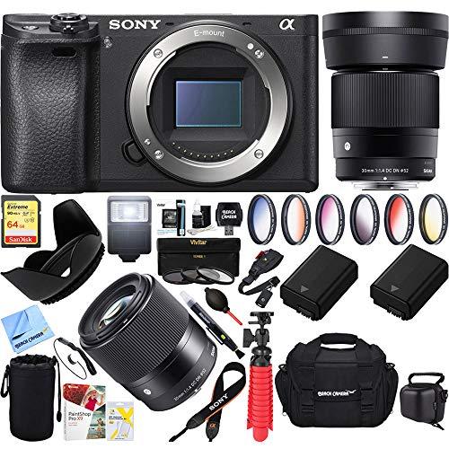 Sony a6300 4K Mirrorless Camera Body w/ APS-C Sensor  with S
