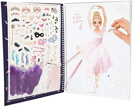 Topmodel Fantasy Model Balerin Boyama Kitabi 10195 Amazon Com Tr