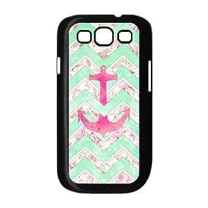 VNCASE Anchor Chevron Phone Case For Samsung Galaxy S3 i9300 [Pattern-1]