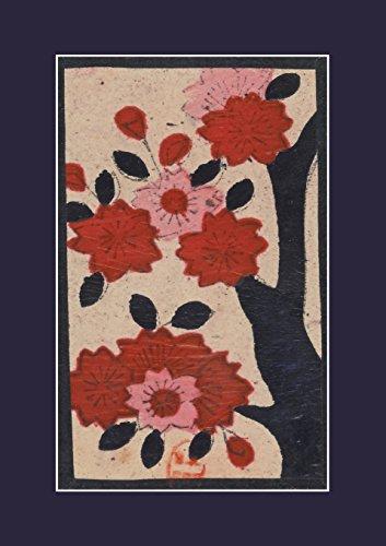 Carnet Ligne Fleurs de Cerisier, Japon 19e (Bnf Estampes)  [Sans Auteur] (Tapa Blanda)