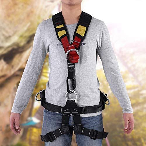 Arn/és de Protecci/ón contra Ca/ídas de Cuerpo Completo Cintur/ón De Seguridad para Escalada Aire Libre para Rescate En Trabajos A/éreos chlius Kits de Arn/és de Seguridad Arn/és Antica/ídas 1.8M