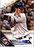 2016 Topps Update #US65 Byung-Ho Park Minnesota Twins Baseball Rookie Card in Protective Screwdown Display Case