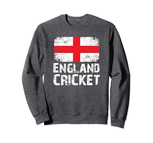 Unisex England Cricket Sweatshirt | England Cricket Team Sweatshirt Large Dark Heather