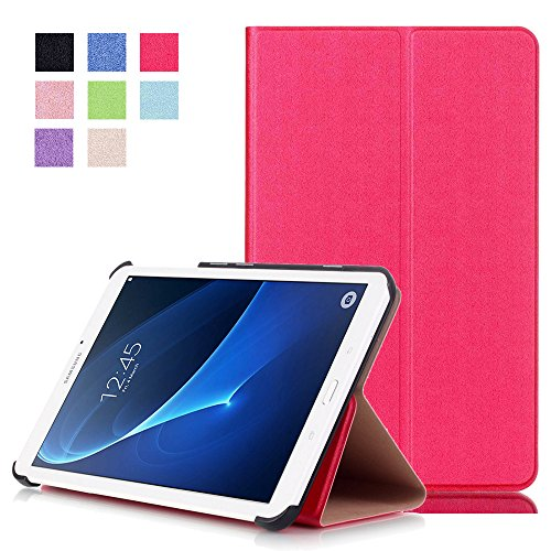Samsung Tab A 7.0 inch Case , tab A 7 inch cover ,WITCASE slim fit Protective leather stand case cover folio for Samsung galaxy tab A 7 - 7.0 inch Tablet 2016 release ( SM-T280 / SM-T285) (Rose Red) (Unlocked Samsung Mini 4 G compare prices)