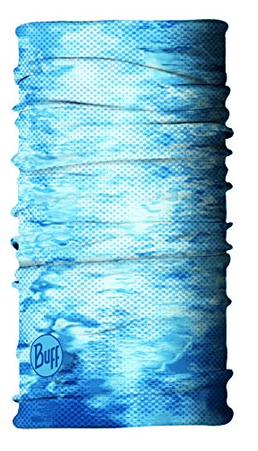 BUFF Unisex UV Multifunctional Headwear XL Insect Shield, Pelagic Camo Blue, XL