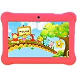 Tagital 7 Quad Core Android Kids Tablet, with Wifi and Camera and Games, HD Kids Edition with Kid Mode Pre-Installed 2017 Version (Pink)
