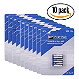 Official A23 Battery Replacement for SadoTech Doorbell Battery and Accessories, Long Lasting, 10 Pack (30 Batteries)