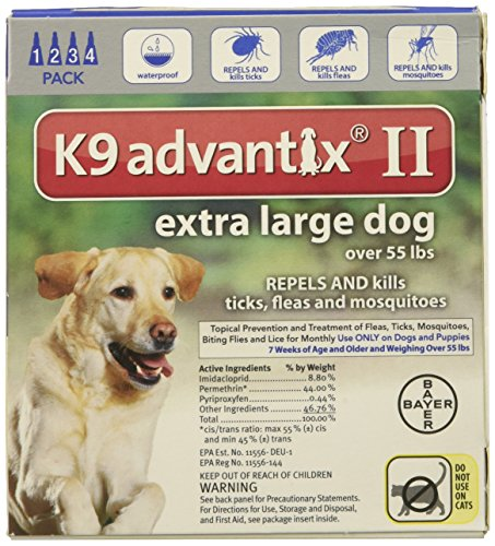 (K9 Advantix II for Dogs Over 55 lbs - 4 Count)