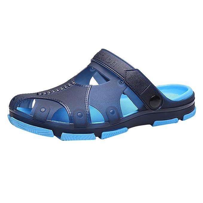 fiosoji sandalias hombre verano 2019,zuecos hombre playa piscina,zapatos romanos hombre,sandalias correctoras juanetes negras: Amazon.es: Ropa y ...