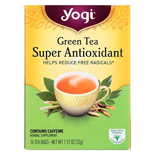 Yogi Tea Green Super Antioxidant, 16 Count