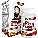 Beard/Stache Facial Hair Growth Supplement Support