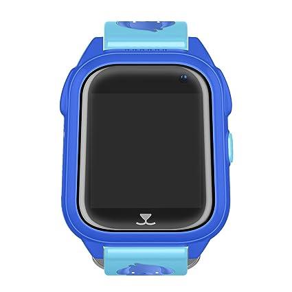 Reloj inteligente para niños con pantalla táctil y rastreador GPS, para control de muñeca, ...