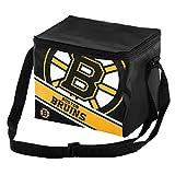 Boston Bruins Big Logo Stripe 6 Pack Cooler