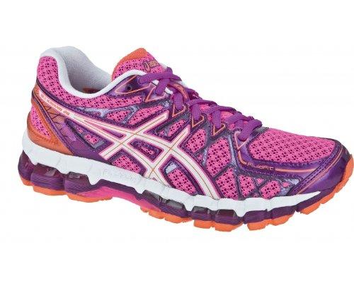 ASICS GEL-KAYANO 20 Womens Laufschuhe Pink