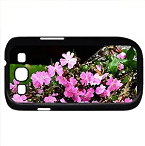 After rain (Flowers Series) Watercolor style - Case Cover For Samsung Galaxy S3 i9300 (Black)
