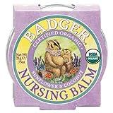 Badger Organic Nursing Balm - Sunflower & Coconut - 0.75oz