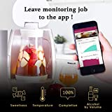 ALCHEMA - Easy & Fun Home Brewer System for Starter with App Monitoring, UV-C LED Sanitizating, Automatic Measuring, Free Recipe Online for Crafting Cider, Mead & Wine