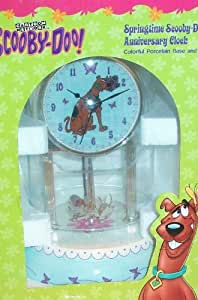 Scooby Doo Springtime Porcelain Anniversary Clock