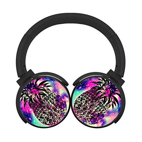 Hidui Hifi Black Bluetooth Galaxy Pineapple Personal Stereo Earphone For Pc/Tv/Phones ()